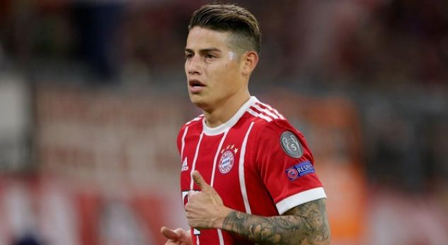 James Rodriguez admits desire for Real Madrid return