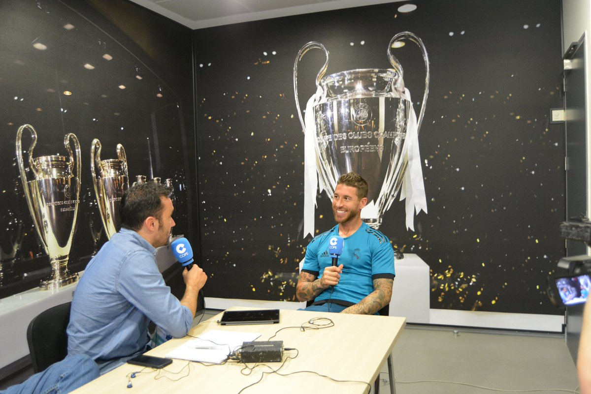 Interview with Ramos about Ronaldo, Zidane and Neymar