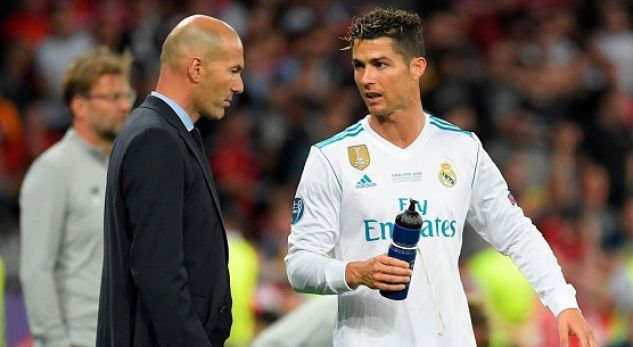No Ronaldo in Zidane's best XI