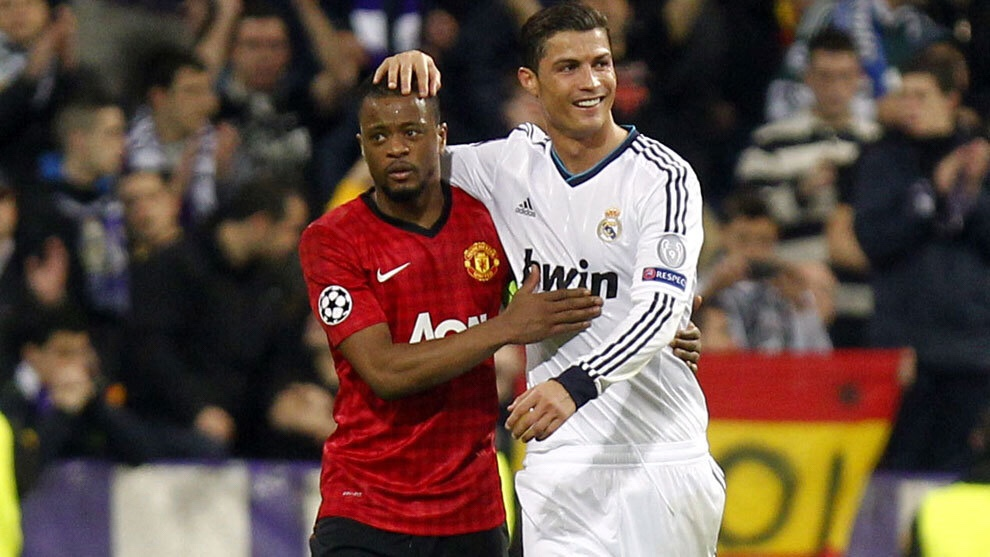 Evra: If Cristiano Ronaldo invites you over for lunch, just say no