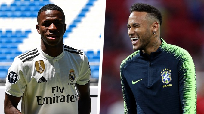 Image result for neymar and Vinicius
