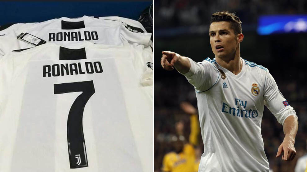 Cristiano Ronaldo S Possible Juventus Shirt Has Been Leaked