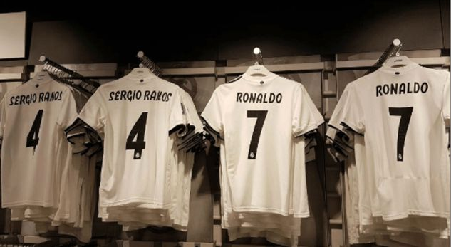 super popular b2e06 2feb5 ronaldo shirt sales