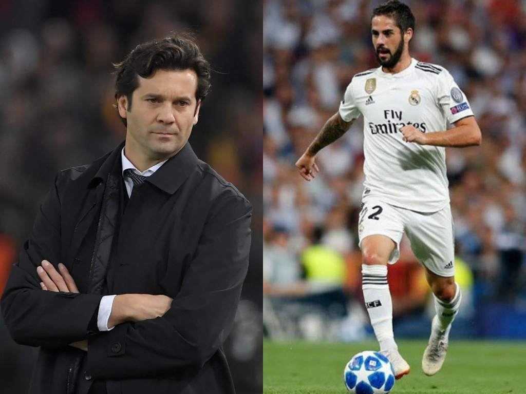 Solari has a message for Isco after benching him vs Rayo