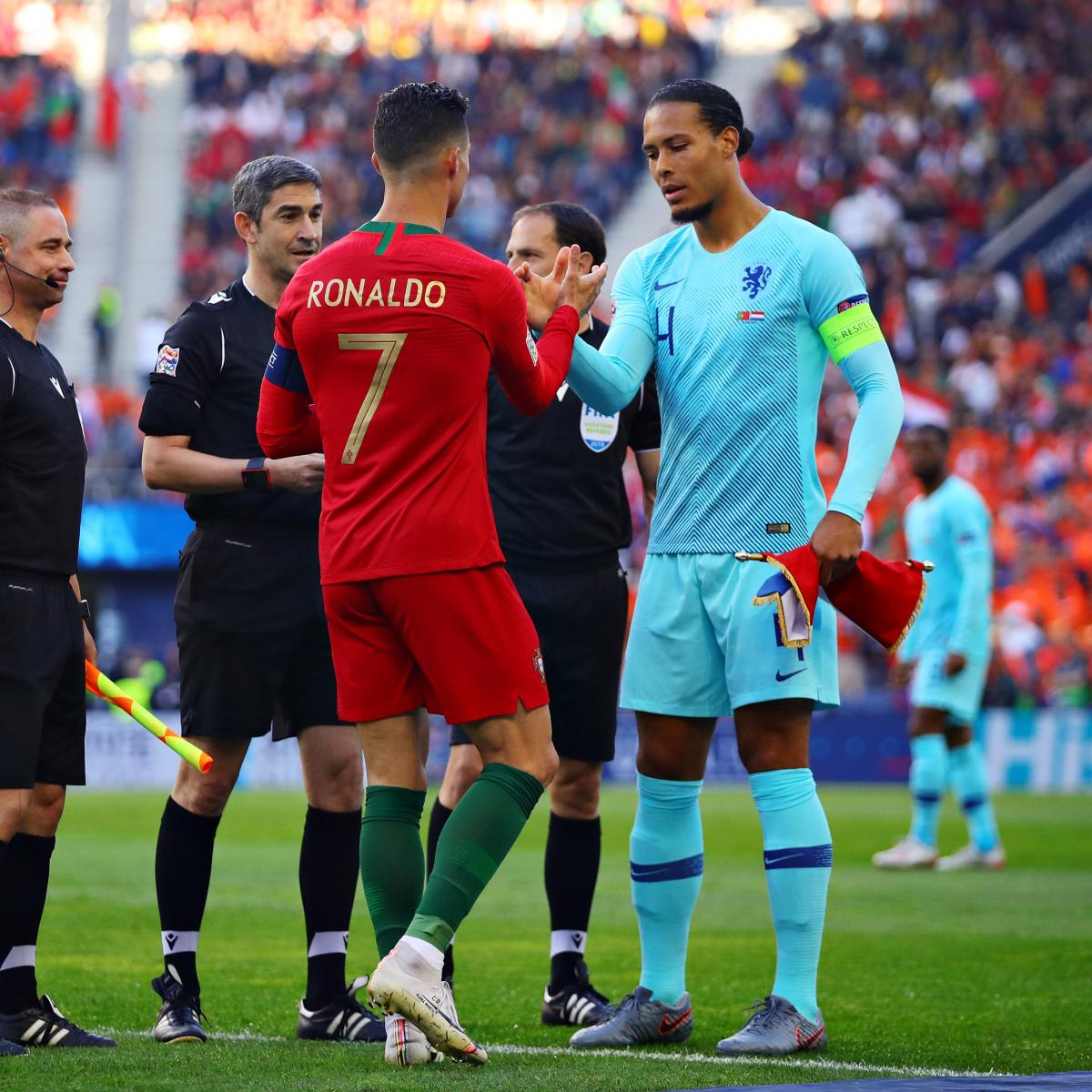 Van Dijk The Favorites Ronaldo Only 8th Placed In 2019 Ballon D Or Rankings