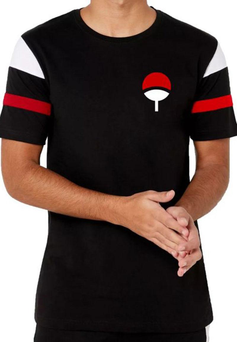 buy uchiha clan logo designer tshirt on 9tails club