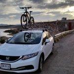 Honda Civic Honda Civic Roof Bike Rack