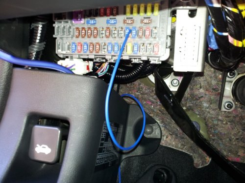 small resolution of diy civic si batman s easy way aftermarket amp sub install can work thread wire sub remote cable to fuse
