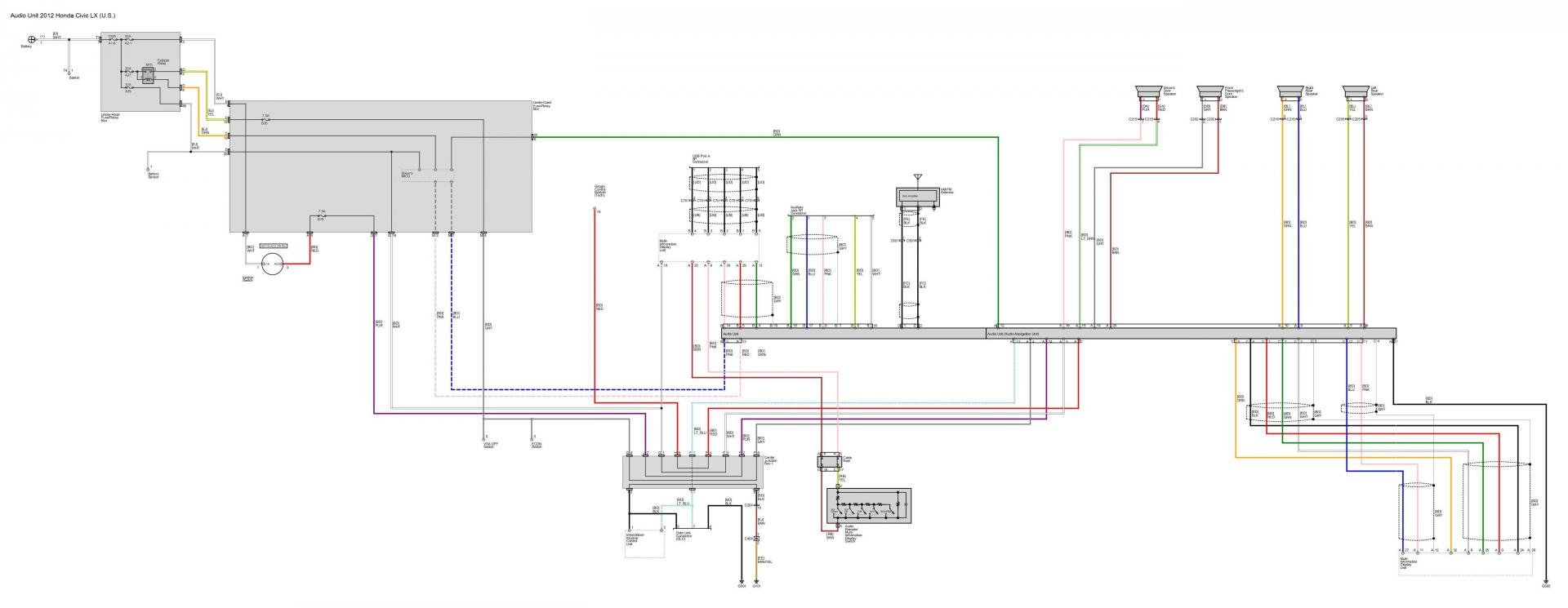 Audio Wiring diagrams: Post 'em if you got 'em
