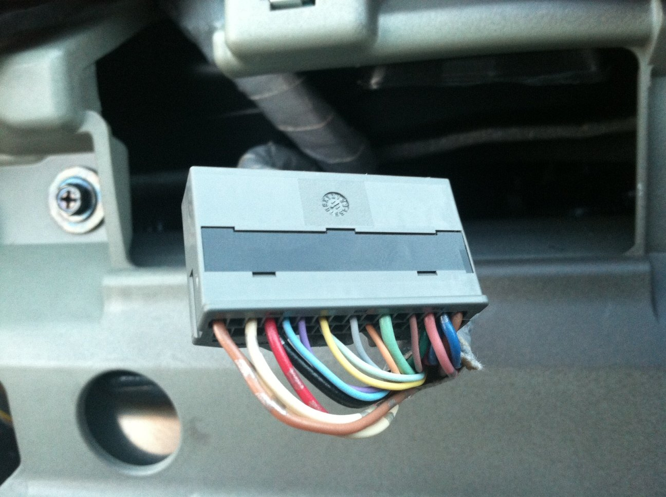 hight resolution of cluster tach section speed sensor wire h2 jpg