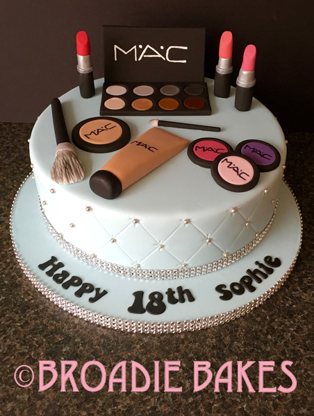 Makeup Birthday Cakes Pictures The Best Cake Of 2018