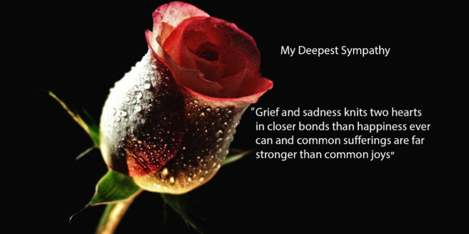 Sympathy Wallpaper Quotes Condolence Sad Quotes Images And Wallpapers My Site