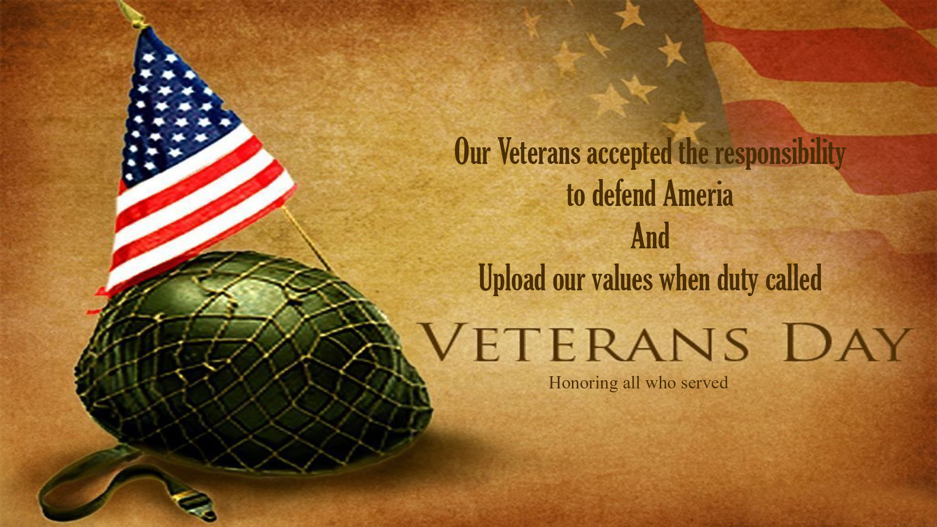 Good Morning Animation Wallpaper Happy Veterans Day 2017 Hd Wallpapers Cards Amp Pictures