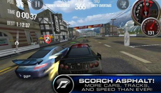 Need for speed shift 2 unleashed released for iphone