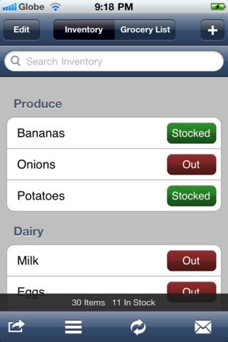 tap grocer iphone