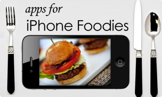 iphone apps for foodies