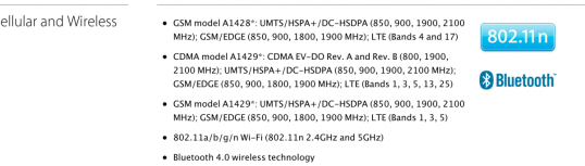 new iphone 5 gsm and cdma