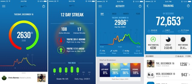 Nike + Fuel_screenshot