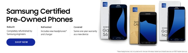 samsung-now-selling-pre-owned-smartphones