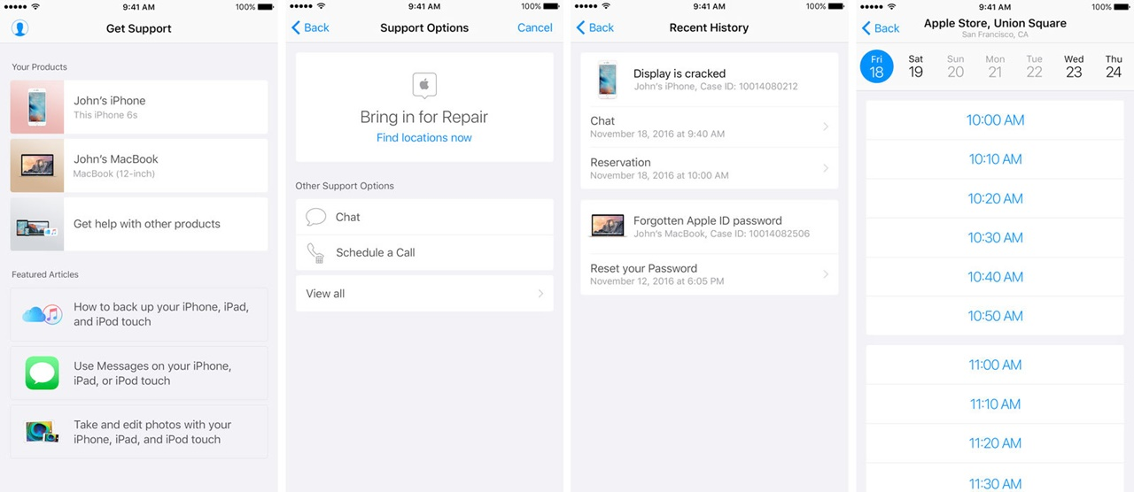 apple-support-app-for-ios-devices