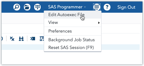 Working with SAS libraries 6