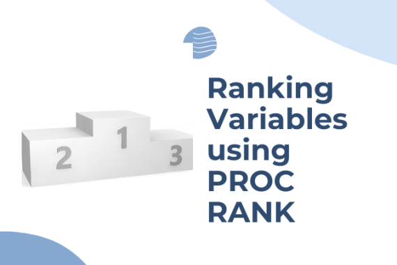 Using PROC RANK for ranking variables