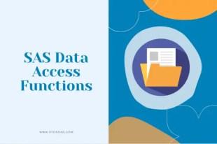 SAS Data Access Functions