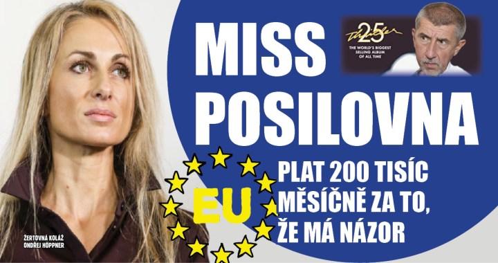 Představujeme nejdivnější kandidáty do parlamentu Evropské unie: Miss ráhno slečna Glajchšaltová chce vyváženou Evropu a oblá fakta, ne že ne.