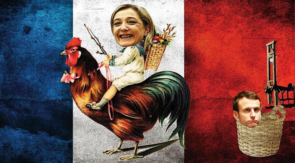 Macron v úpadku: Le Penová jde poprvé do vedení – Nové šokující průzkumy před volbami do Evropského parlamentu