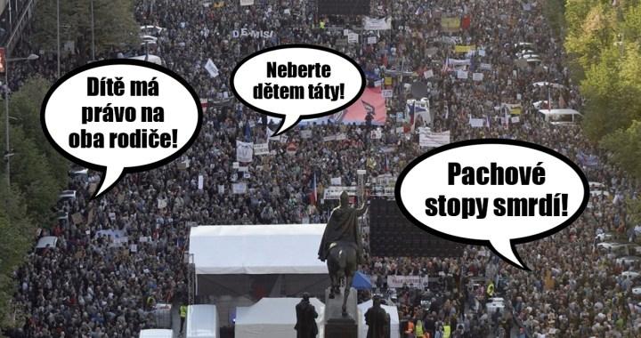 Jak agentura Milion přesvědčila 50 tisíc lidí, že demonstrují za nezávislost justice. Několik tipů, o čem by demonstrace měla být, aby to dávalo smysl