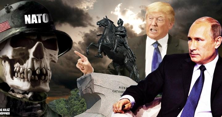Jak si Trump si v Bílém domě vychutnal polského klauna a obklíčil Kaliningrad. Ohňostroj polské servility žene Evropu do války.