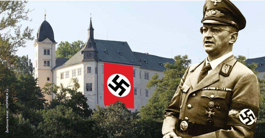 Prolomení Benešových dekretů? Hrabě Walderode vyvěšoval na svůj zámek Hrubý Rohozec vlajku s hákovým křížem, hostil nacisty, hajloval… Ale teď vysoudil majetky za tři miliardy!