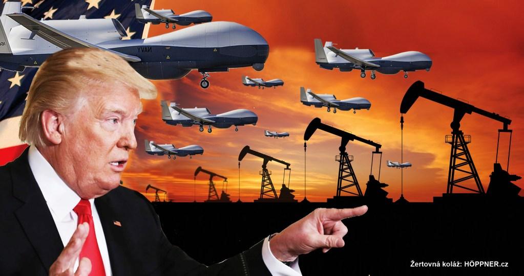 PRŮLOMOVÁ ZPRÁVA: Americký špionážní letoun Global Hawk sestřelen nad Íránem. Druhá provokace v rychlém sledu. Schyluje se k válce. USA chce odříznout Čínu od íránské ropy.