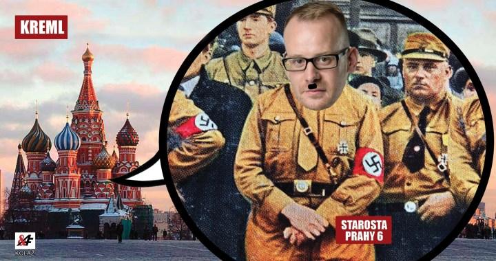 To už je moc! Ruský ministr kultury přirovnal starostu Koláře k vedoucímu místní pobočky NSDAP. Ten se pýří.  Maršál Koněv nebo garáže?
