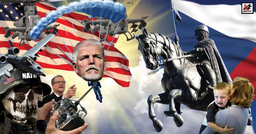 """Zlatý hřeb programu ukradené revoluce: Komunista z NATO generál Pavel, který má rád mír, zahajuje 17. listopadu prezidentskou kampaň. Kalouskův muž v plné polní. Co je pravdy na tom, že pro NATO pracoval jako """"rušička""""? Začíná česká verze operace Trvalá svoboda"""