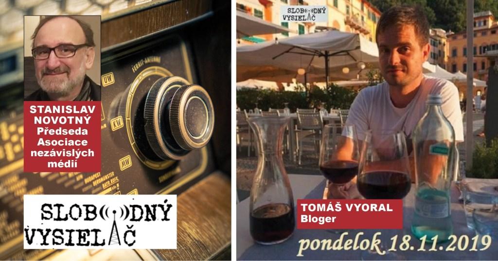 Rozhovor Na prahu změn: Tomáš Vyoral, nezávislý bloger