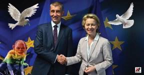 Jejda! Předsedkyně Evropské komise Ursula von der Leyen je ve stejném střetu zájmů jako Andrej Babiš? Její manžel řídí obří kliniku, která je na dotacích EU závislá. A jsou tu další…