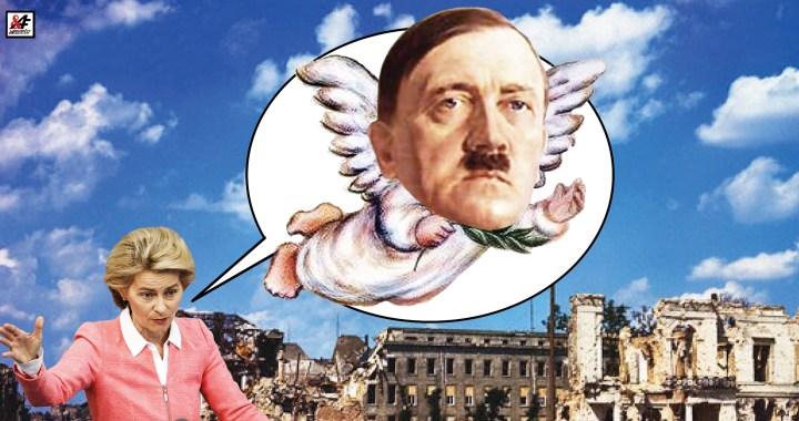 Nehorázné! Evropská unie odhlasovala, že Německo a Sovětský svaz začali válku společně! Přepisování historie z něhož se zvedá žaludek. Železná Uršula na stopě bílého králíka. Pro hlasovali také čeští eurohujeři. Zde jsou jmenovitě.