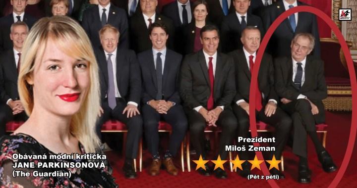 Miloš Zeman Superstar světové módy: Nadšení britského tisku pro českého prezidenta ohledně jeho vytříbeného stylu na setkání světových lídrů v rámci oslav NATO. Gratulujeme!