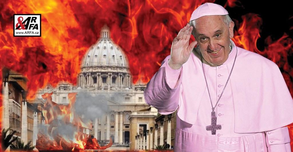 Proč papež František udeřil ženu, která ho miluje – a co mu na to řekla. Nenávistné gesto ve světle hvězdy vánočního stromu. Kde je teď ten, kterého nahradil, protože prý byl šílený? – A čeká Františka stejný osud?
