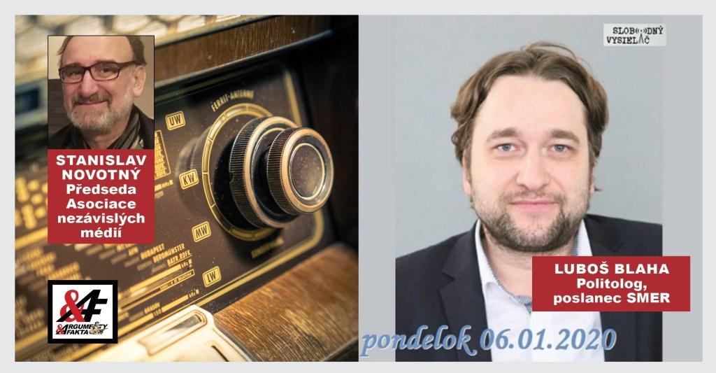 Kapitalismus je zlo, míní politolog Luboš Blaha v rozhovoru pro rozhlasový pořad Na prahu Změn