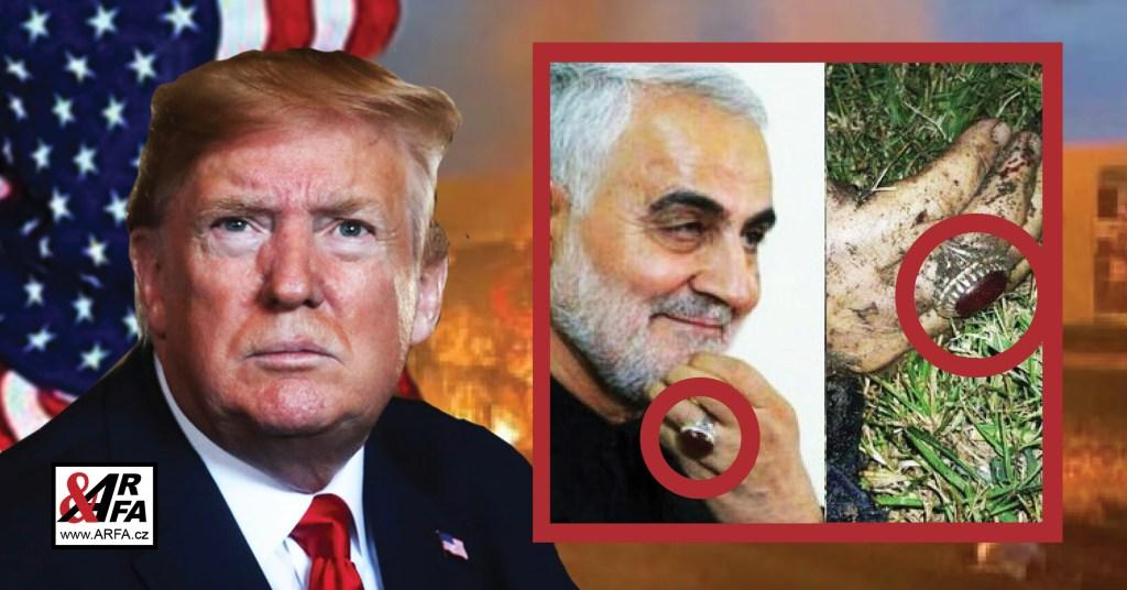 """Útok na ambasádu USA v Praze? Vážné varování. Trump po atentátu na íránského generála posílá svět do jaderné války a sebe do pasti, která ho bude stát prezidentské křeslo. Putin a Macron vyzvali Írán """"k jaderné zdrženlivosti"""""""