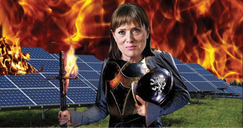 Alena Vitásková: Otevřený dopis poslancům. Solární tunel a miliardové škody, způsobené na občanech a podnikatelích