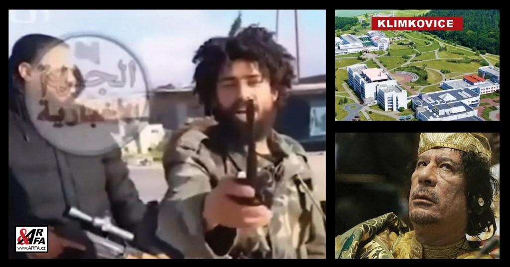 """Jejda! Libyjští teroristé se jezdí léčit do lázní Klimkovice u Ostravy! Jako by mimochodem to uvedla Česká televize ve své zamotané """"válečné"""" reportáži. VIDEO jako důkaz"""