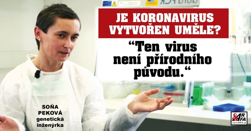 Smrtící Koronavirus byl vytvořen v laboratoři a je biologickou zbraní? Přední česká expertka, která ho měla pod mikroskopem, přináší exkluzivní informace