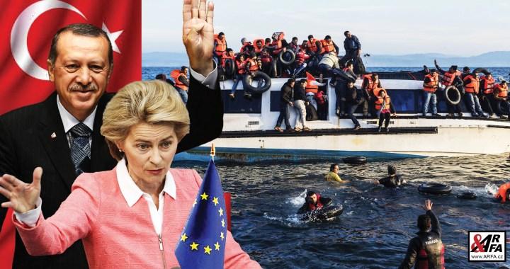 To snad ne! Loď Evropské unie přes protesty Řeků tahá migranty z člunů a vykládá je na řeckých ostrovech. Rána do vazu! Islamizace Evropy: plán, který musí vyjít – i silou?