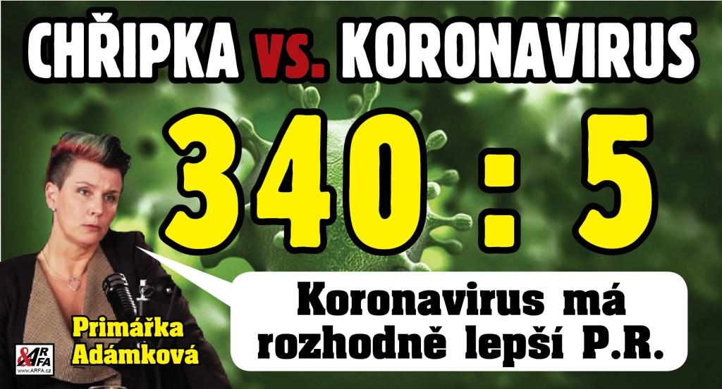 """Česká republika hlásí: """"Čtyři oběti chřipky za den!"""" Je epidemie koronaviru realita, nebo mediální podvod? """"Koronavirus má rozhodně nejlepší PR,"""" míní primářka pražské nemocnice."""