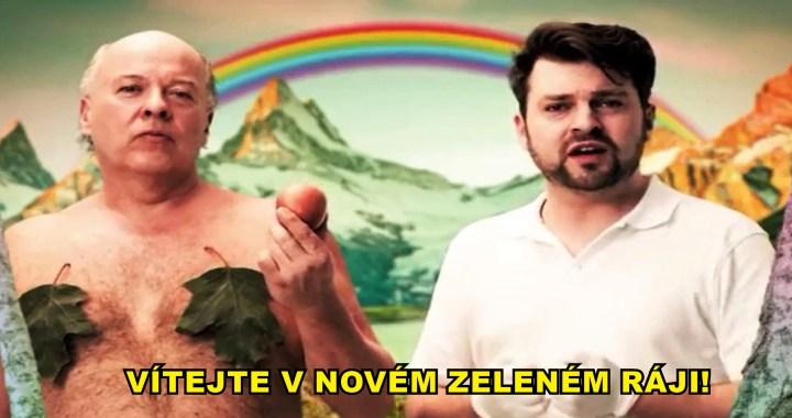 """Odporné. Německá státní televize podpořila pořad: """"Koronavirus zachraňuje planetu"""". Prý satira z pera Zelených a Pirátů. Fuj. Pokračování ideologie po vlajkou písně """"Moje babička je stará ekologická svině"""""""