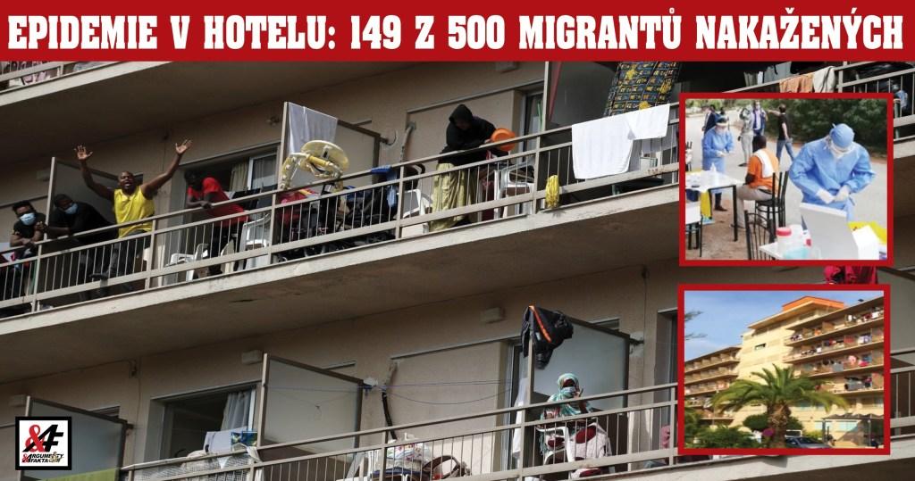 Hotel Koronavirus: 148 nakažených migrantů z 500 v řeckém hotelu ve vnitrozemí. Teď ho hlídá armáda. První byla těhotná Somálka. Evropská unie přesouvá migranty z ostrovů na pevninu proti vůli Řeků.