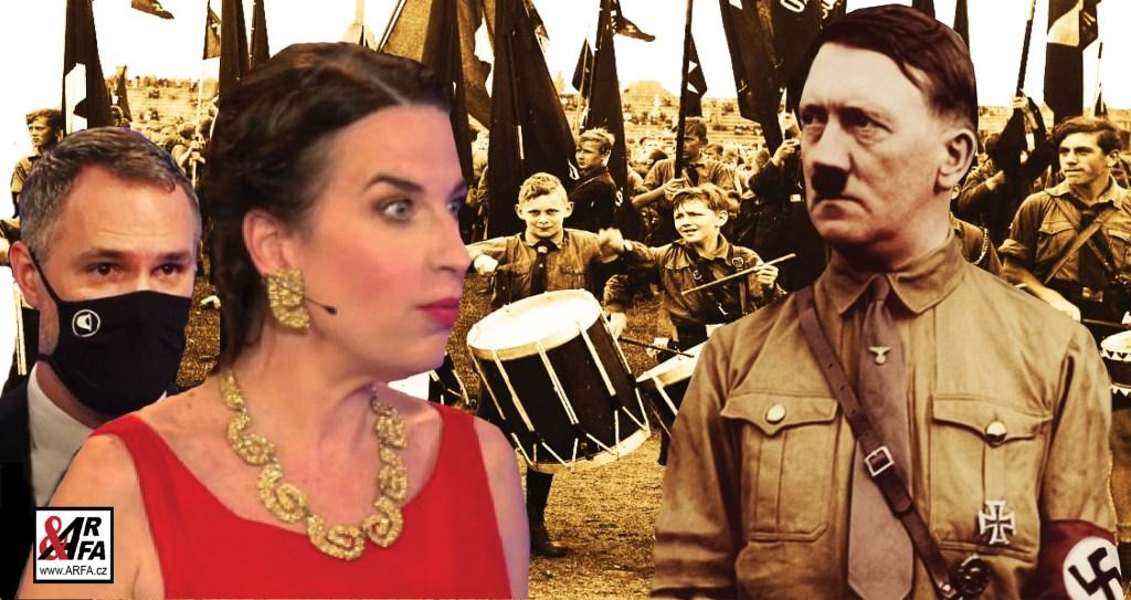 """Šílený primátor Hřib: """"Rudá armáda byla spojencem Hitlera."""" Brutální přepisování dějin podle nacistických not. Jak Míša Jílková v """"Máte slovo"""" seřvala diváka, který nesouhlasil"""